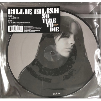BILLIE EILISH-NO TIME TO DIE(圖案膠)(EP)VINYL