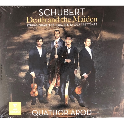 SCHUBERT:DEATH AND THE MAIDEN(CD)