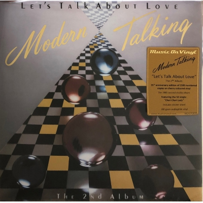 MODERN TALKING-LET'S TALK ABOUT LOVE(橙膠)(LP) vinyl