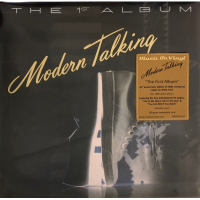 MODERN TALKING-FIRST ALBUM(白膠)(LP) vinyl