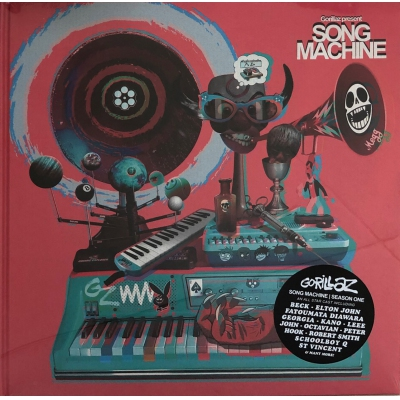 GORILLAZ-SONG MACHINE(2LP+CD)