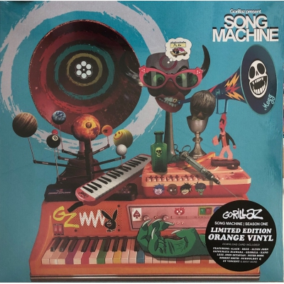 GORILLAZ-SONG MACHINE(橙膠)VINYL