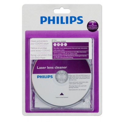 Philips Cleaning Media LASER LENS CLEANER