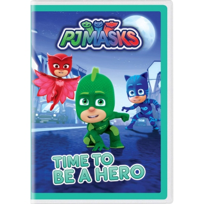 PJ MASKS - TIME TO BE HERO (美版) (DVD)