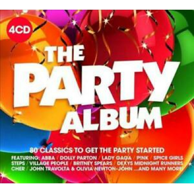 VA - THE PARTY ALBUM 4CD